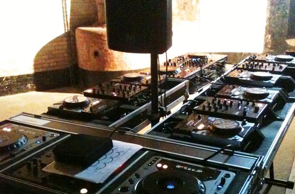 DJ workshop DJ sets