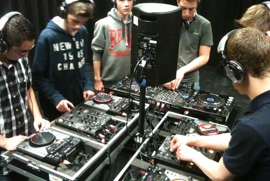 DJ workshop school les programma