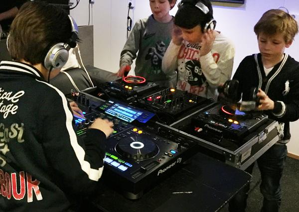 DJ workshop CKV in de klas