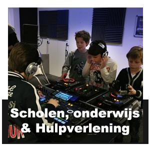 DJ workshop scholen en onderwijs
